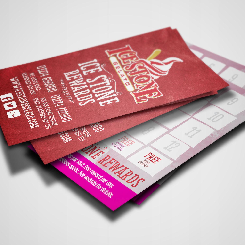 IceStone Gelato Reward Cards