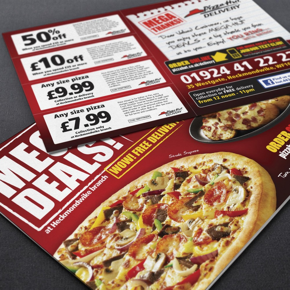Pizza Hut Discount Cards