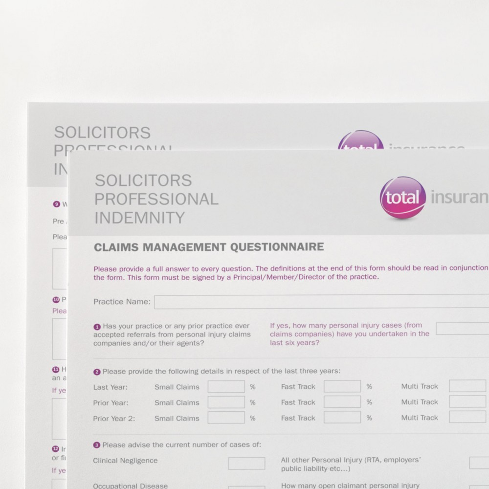 Total Insurance Forms